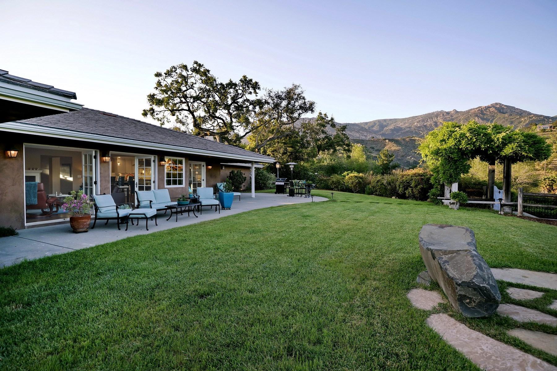 独户住宅 为 销售 在 Impeccable Santa Barbara Living 108 Northridge Road 圣巴巴拉市, 加利福尼亚州, 93105 美国