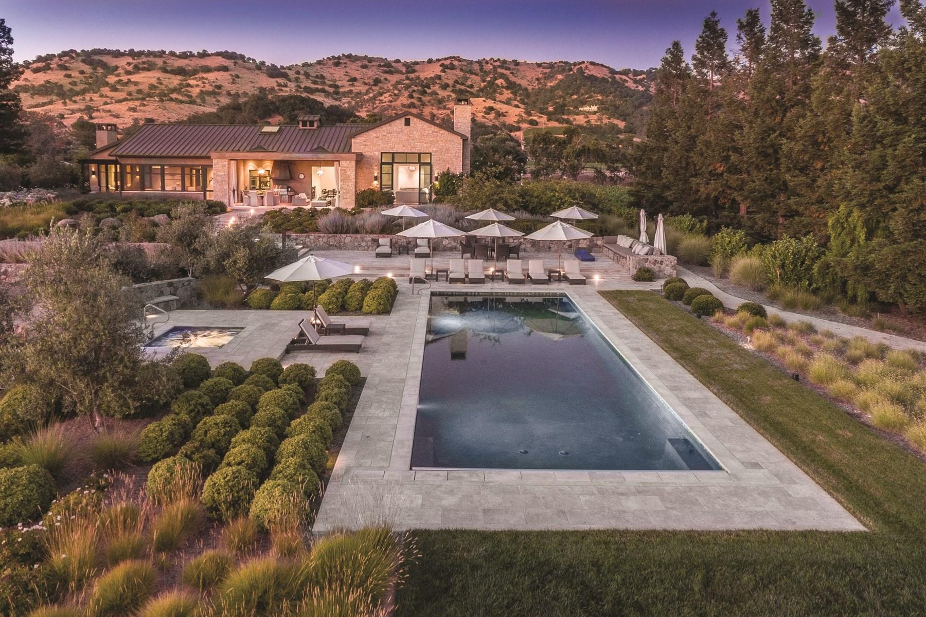 Terreno por un Venta en Yountville Vineyard Estate 1095 State Ln Yountville, California, 94599 Estados Unidos