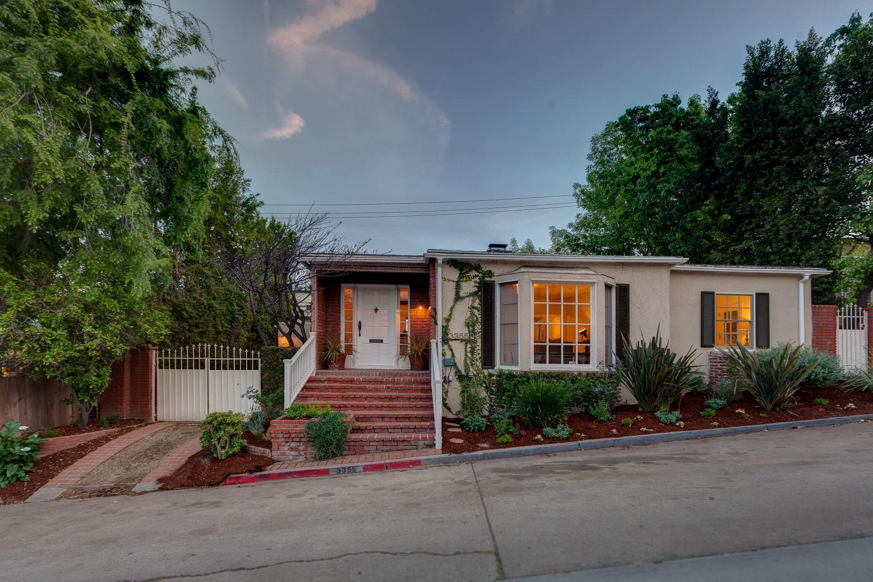 Tek Ailelik Ev için Satış at 3355 Wood Terrace Los Feliz, Los Angeles, Kaliforniya, 90027 Amerika Birleşik Devletleri
