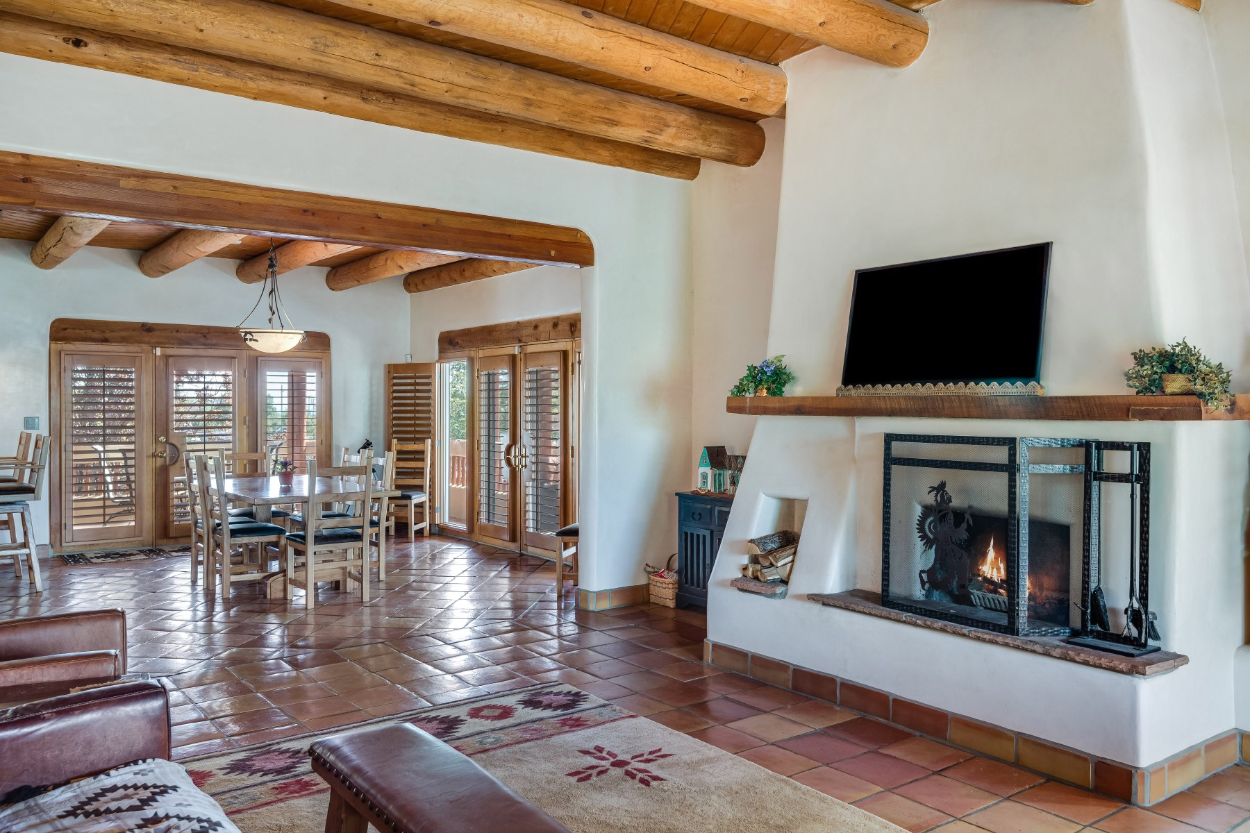 Single Family Home for Sale at Desirable Museum Hill neighborhood 504 Barcelona Santa Fe, New Mexico, 87505 United States