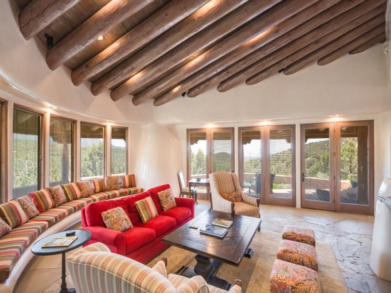 Maison unifamiliale pour l Vente à 1508 Summit Ridge Santa Fe City Northeast, Santa Fe, New Mexico 87501 États-Unis