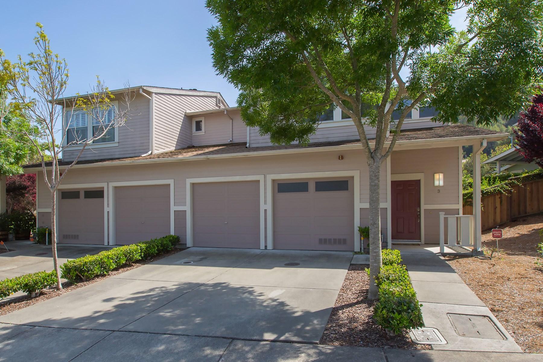 타운하우스 용 매매 에 3 Terrace Dr, Sausalito Sausalito, 캘리포니아, 94965 미국