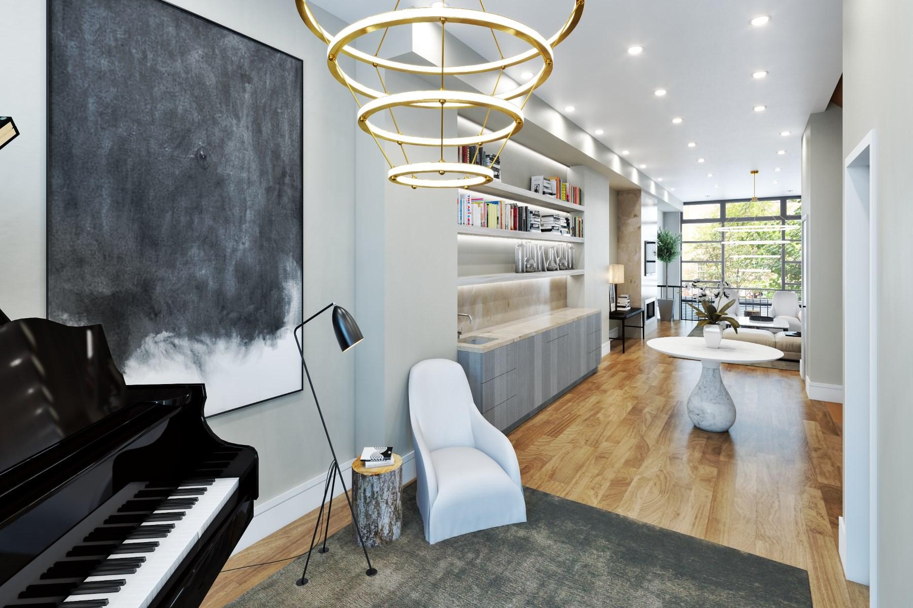Многосемейный дом для того Продажа на MODERN MASTERPIECE 118 West 76th Street Upper West Side, New York, Нью-Йорк, 10023 Соединенные Штаты