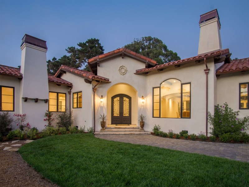 Single Family Home for Sale at Custom Mediterranean Home 315 Crocker Avenue Pacific Grove, California 93950 United States