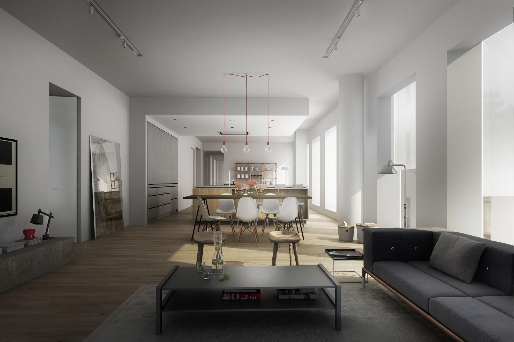 共管式独立产权公寓 为 销售 在 1 John Street, PHA 1 John Street Apt Pha Dumbo, Brooklyn, 纽约州 11201 美国
