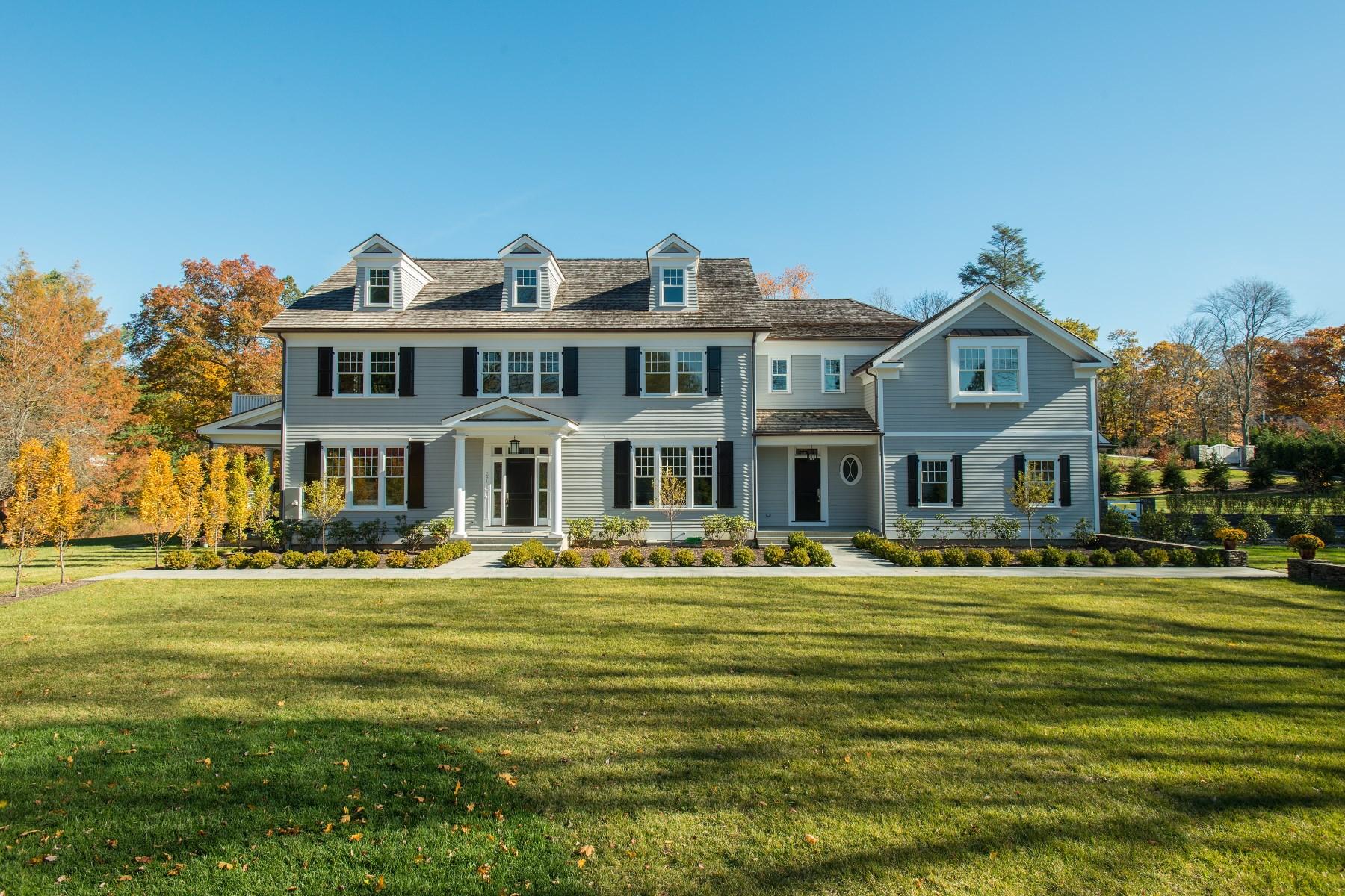 Maison unifamiliale pour l Vente à Stanwich Road 291 Stanwich Road Greenwich, Connecticut, 06830 États-Unis