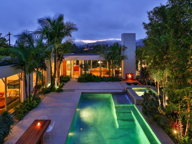 Single Family Home for Sale at Stunning Architectural Gem 515 Mount Holyoke Avenue Pacific Palisades, California 90272 United States