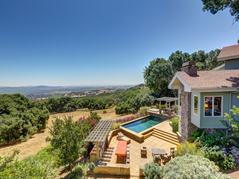 Single Family Home for Sale at Breathtaking Sonoma Valley Views 3430 Hawks Beard Sonoma, California 95476 United States