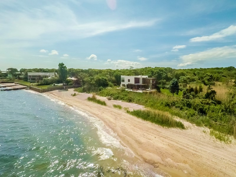 Single Family Home for Sale at Modern Waterfront on Noyac Bay Sag Harbor, New York 11963 United States