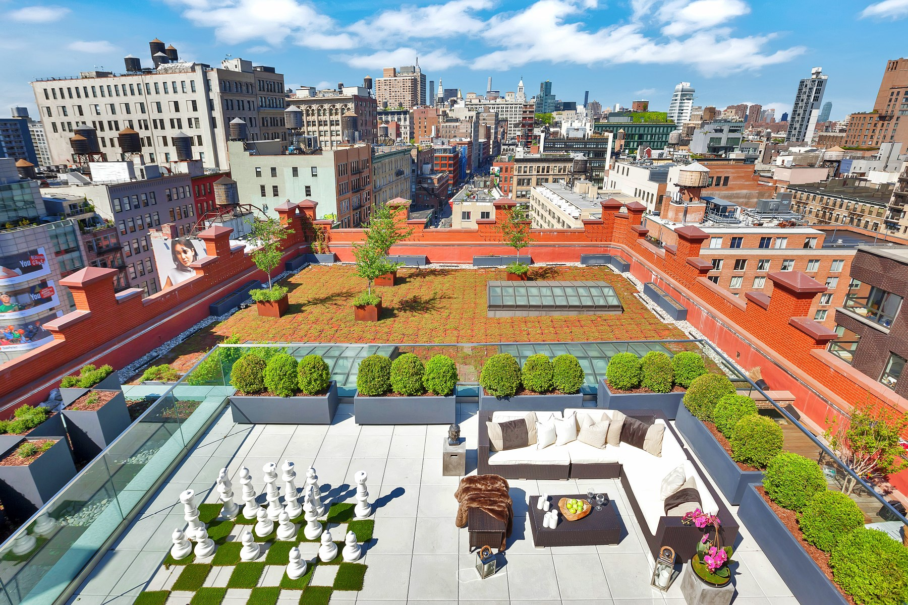 Single Family Home for Sale at Puck Penthouses, PH II 293 Lafayette Street Ph II Soho, New York, New York 10012 United States