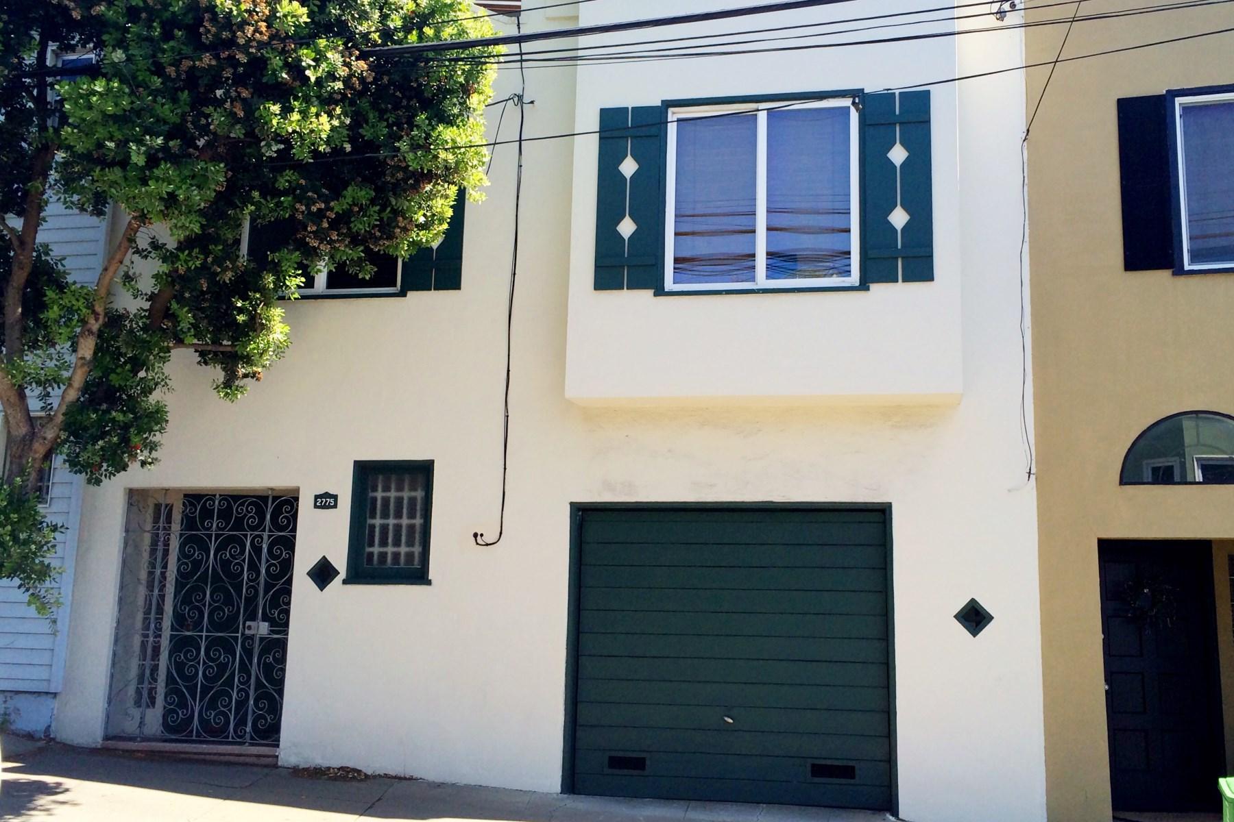 Casa para uma família para Venda às Prime Glen Park Home 2775 Diamond St Bernal Heights, San Francisco, Califórnia 94131 Estados Unidos