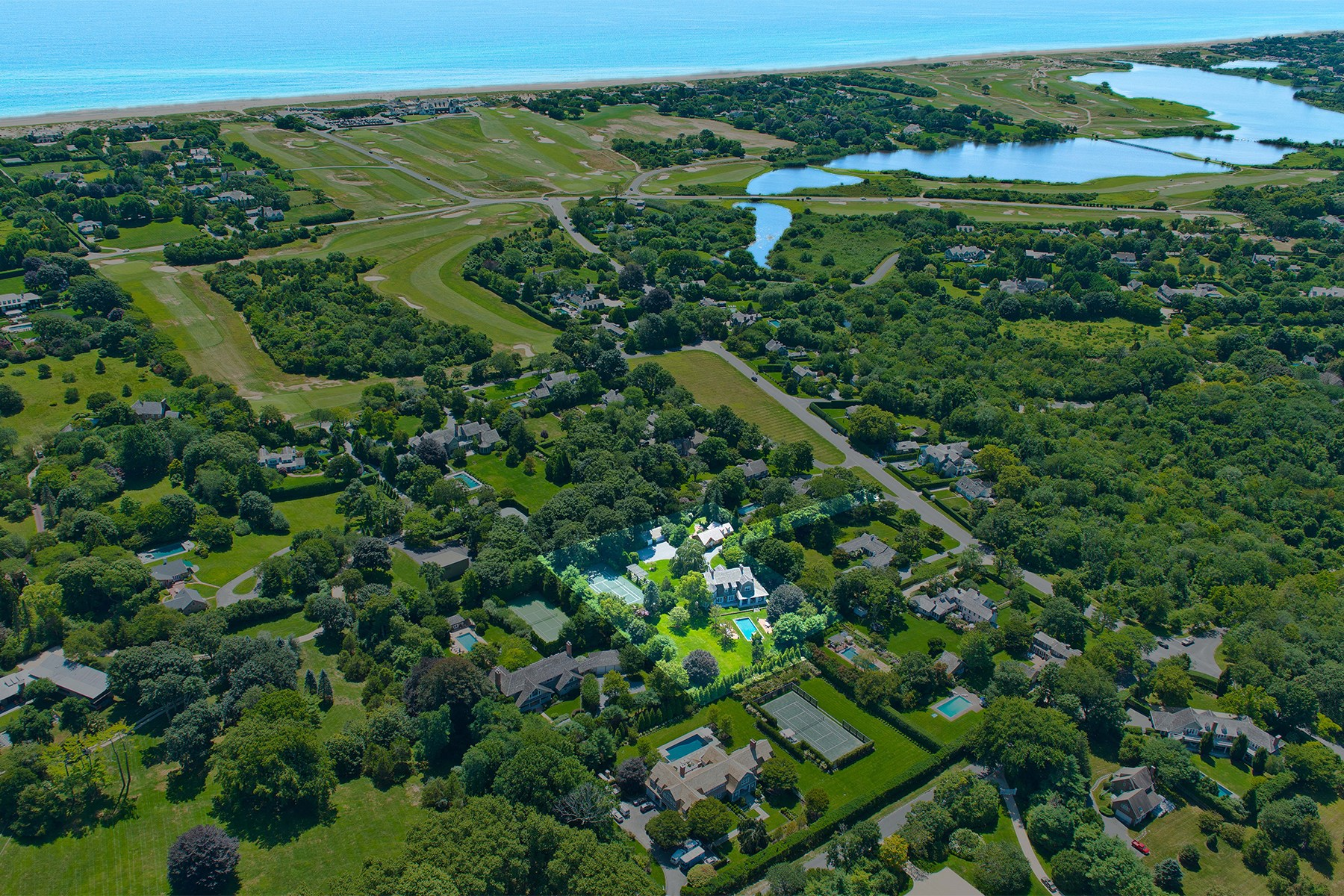 Single Family Home for Sale at Egypt Lane Compound East Hampton, New York, 11937 United States