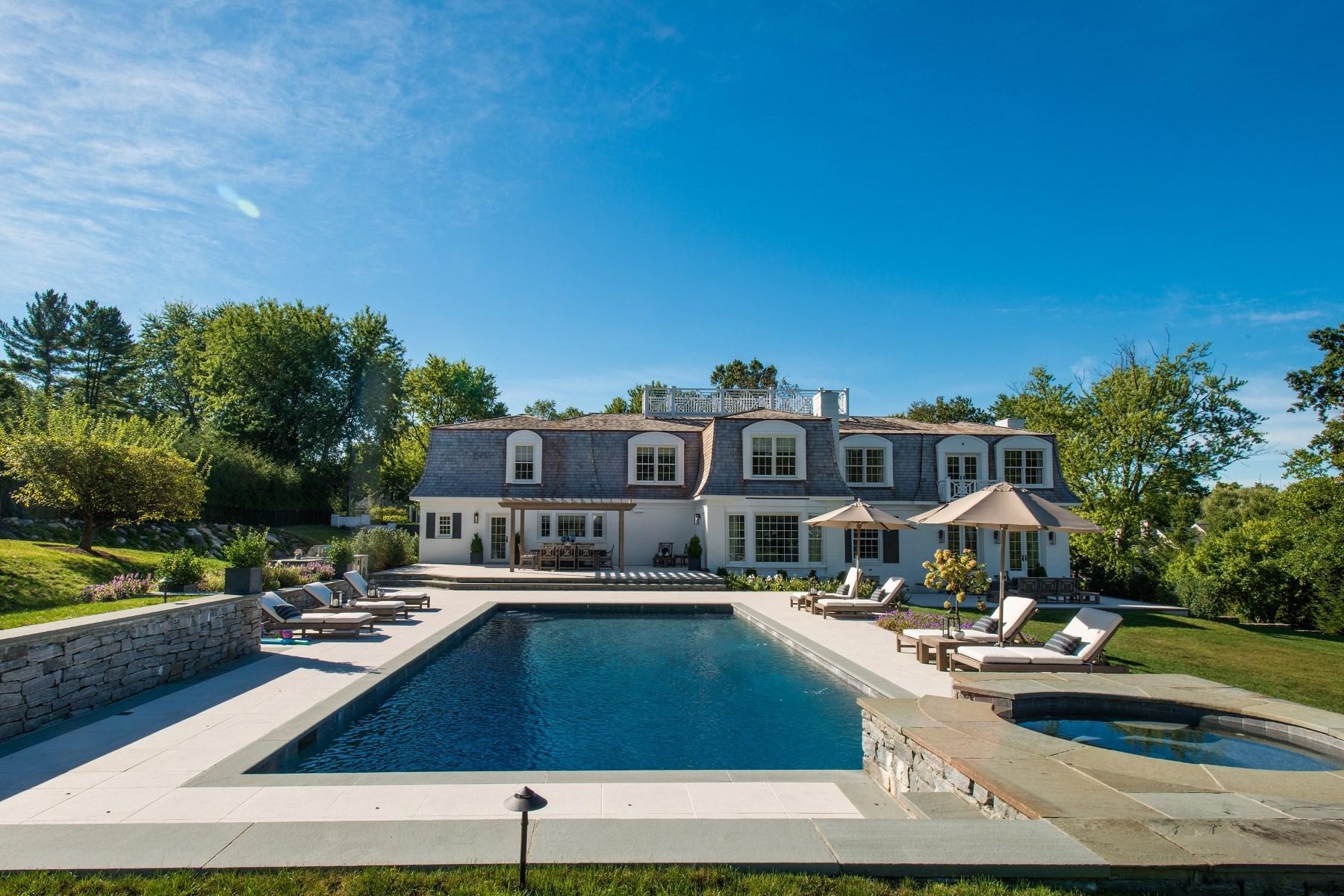 Maison unifamiliale pour l Vente à Lindsay Drive 5 Lindsay Drive Greenwich, Connecticut, 06830 États-Unis