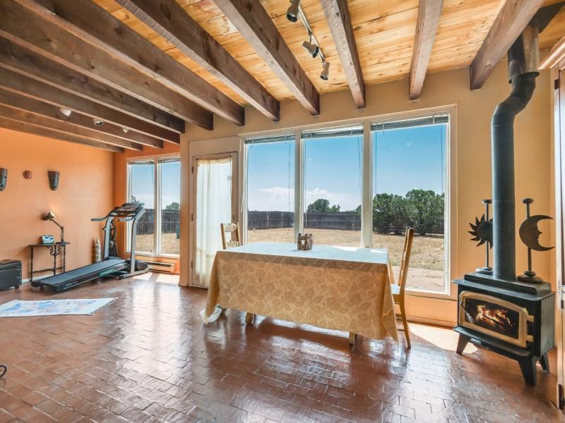 Maison unifamiliale pour l Vente à 5 Lucero Road 5 Lucero Rd Eldorado, Santa Fe, New Mexico 87508 États-Unis