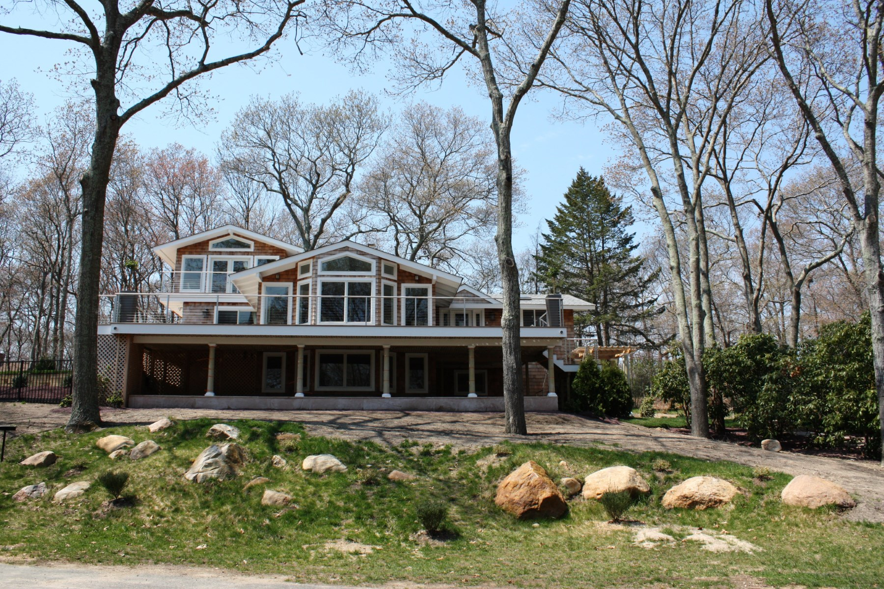 Single Family Home for Rent at Hamptons Chic with Water Views East Hampton, New York 11937 United States