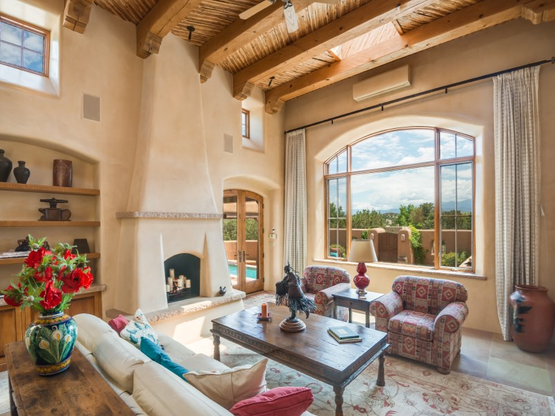 Maison unifamiliale pour l Vente à 23 Hawthorne Circle Las Campanas & Los Santeros, Santa Fe, New Mexico 87506 États-Unis
