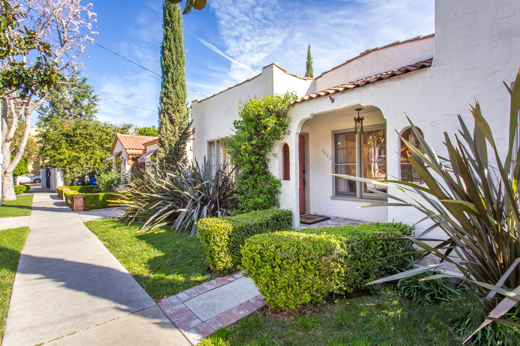 sales property at Restored Spanish In Prime West Hollywood