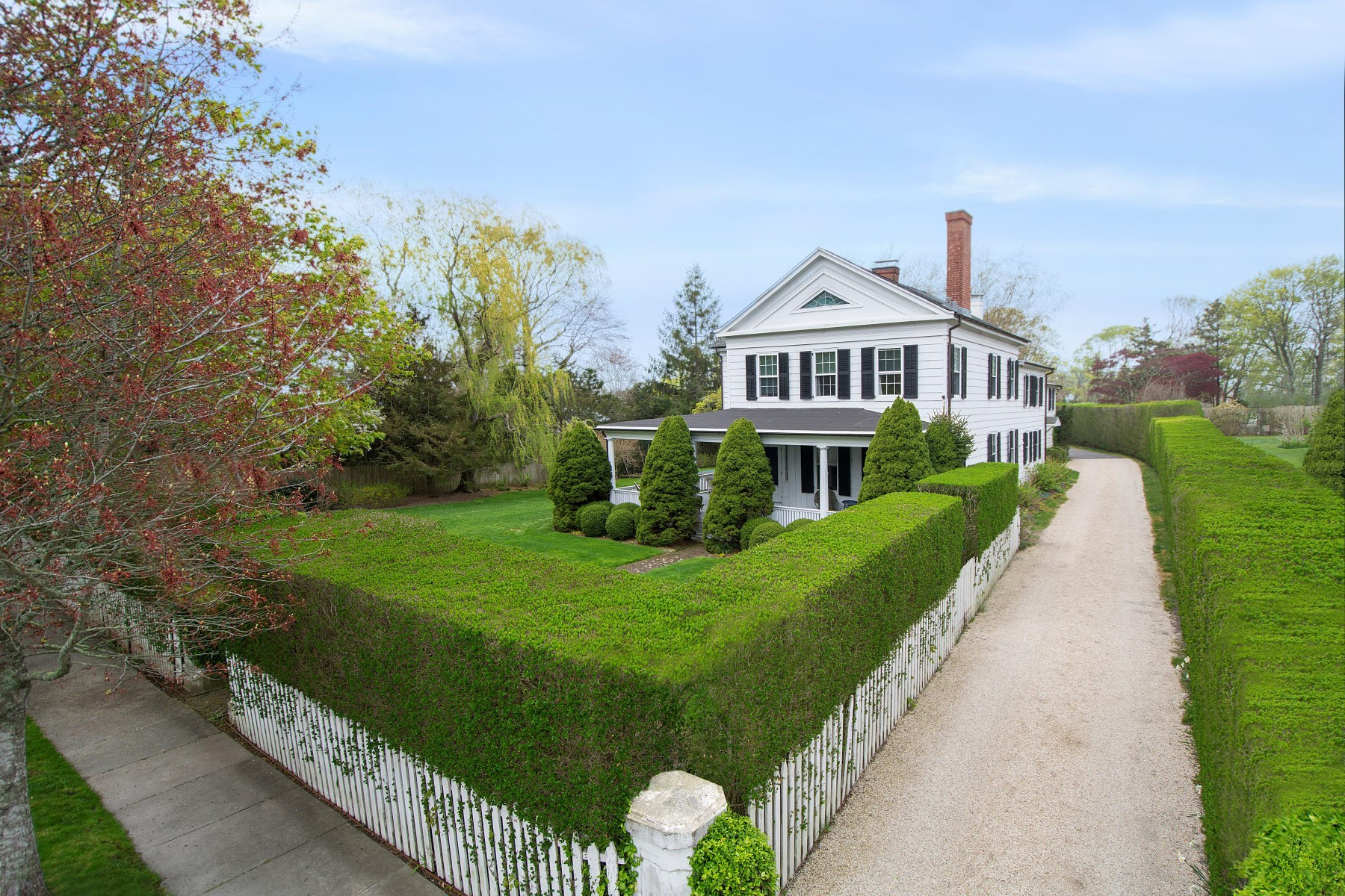 rentals property at Fairfield Porter's Historic Village Home