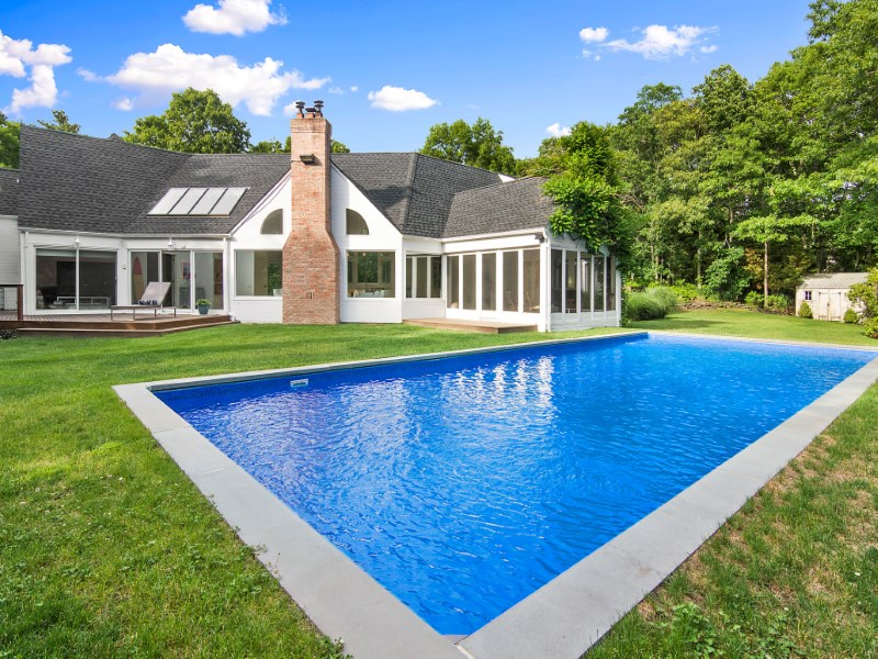 Single Family Home for Sale at Sculptural Contemporary 7 Little Court East Hampton, New York 11937 United States