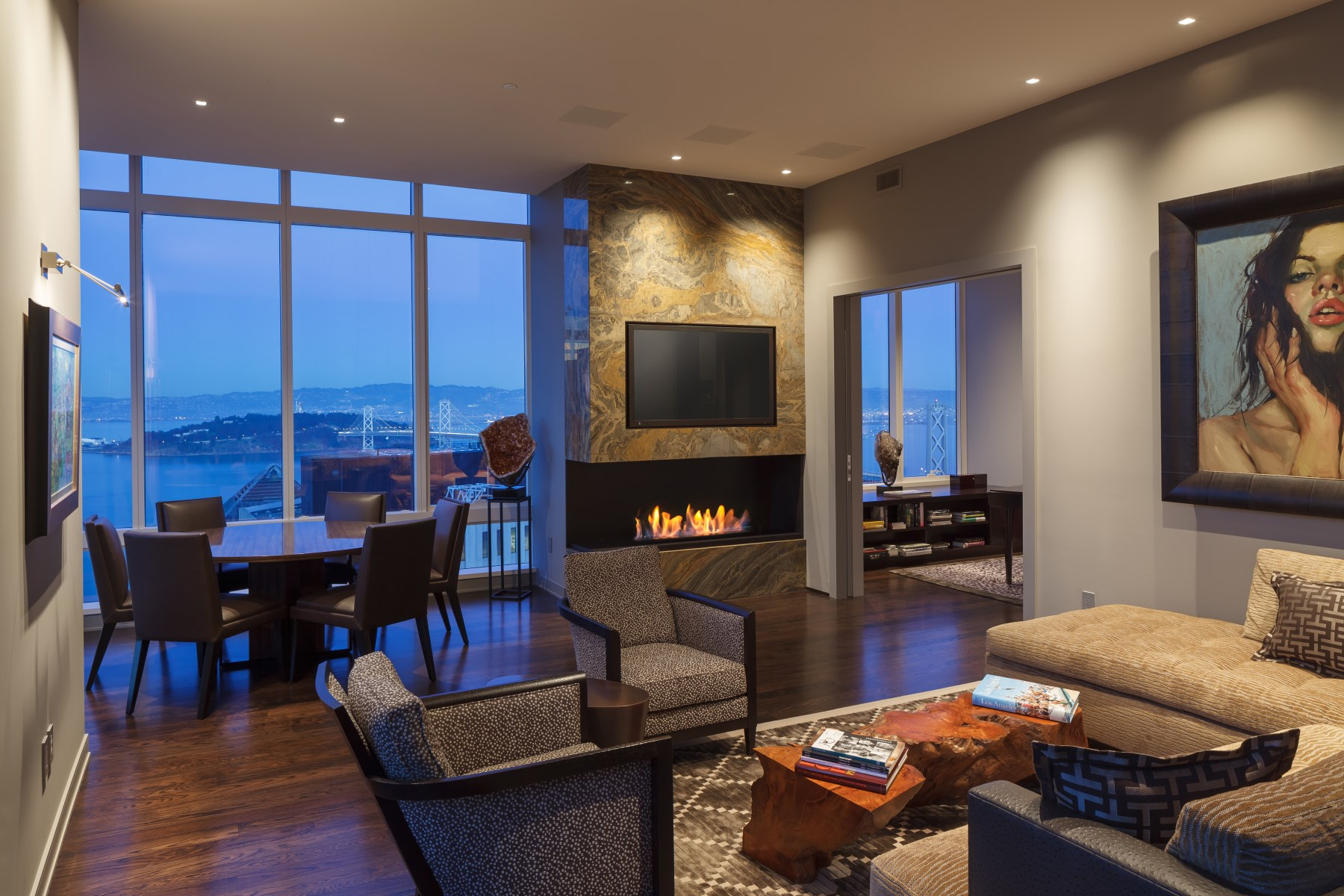 Condominium for Sale at Bespoke Residence with Landmark Views 301 Mission St Apt 48B San Francisco, California, 94105 United States