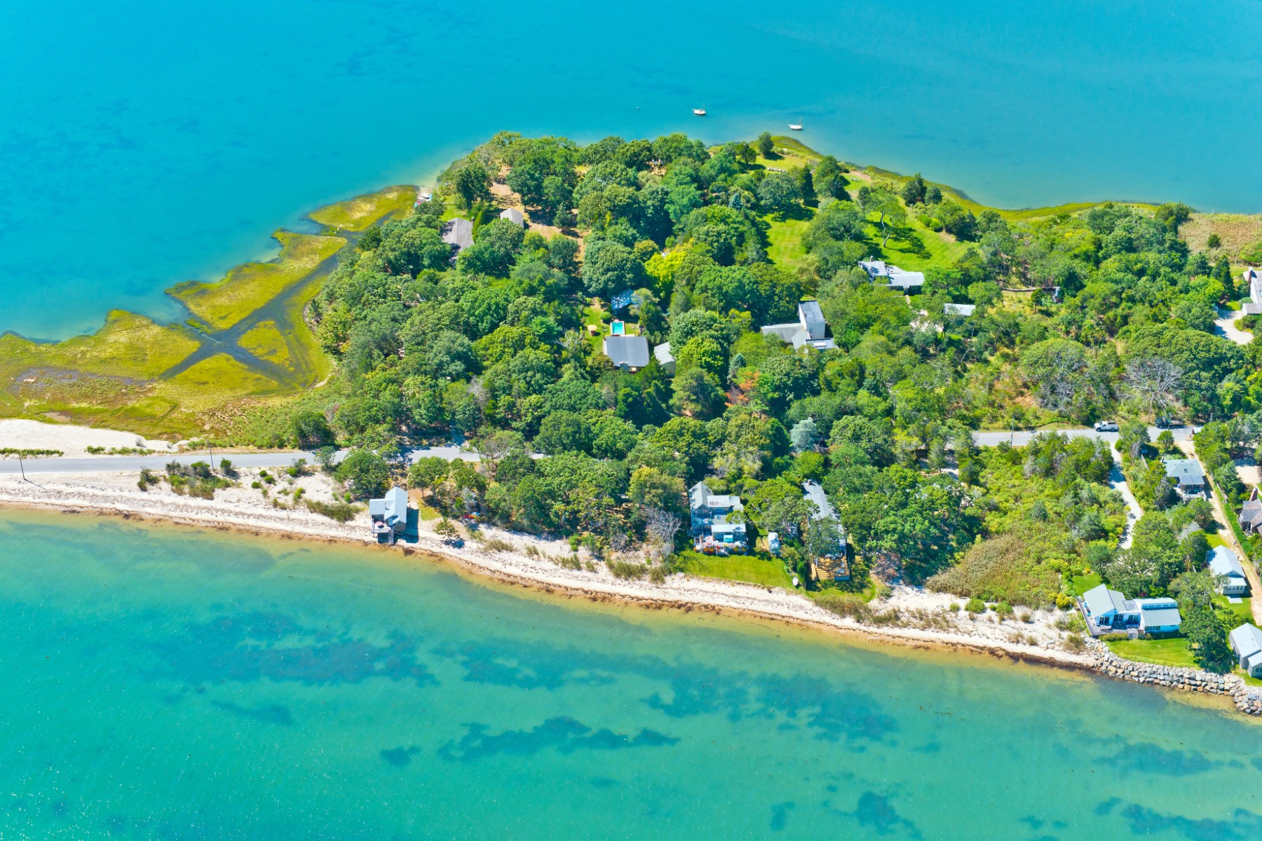 Single Family Home for Sale at Hip Harborview Beach House East Hampton, New York, 11937 United States