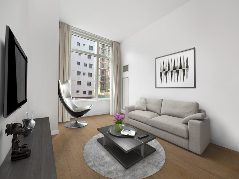 Condomínio para Venda às Sophisticated Luxury Loft in Midtown 247 West 46th Street Apt 204 New York, Nova York 10036 Estados Unidos