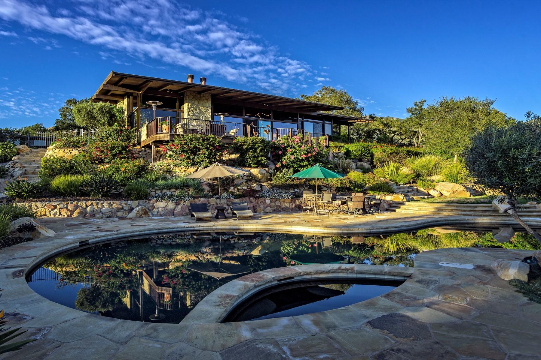 一戸建て のために 売買 アット Dramatic Contemporary View Home 60 El Cielito Road Santa Barbara, カリフォルニア 93105 アメリカ合衆国