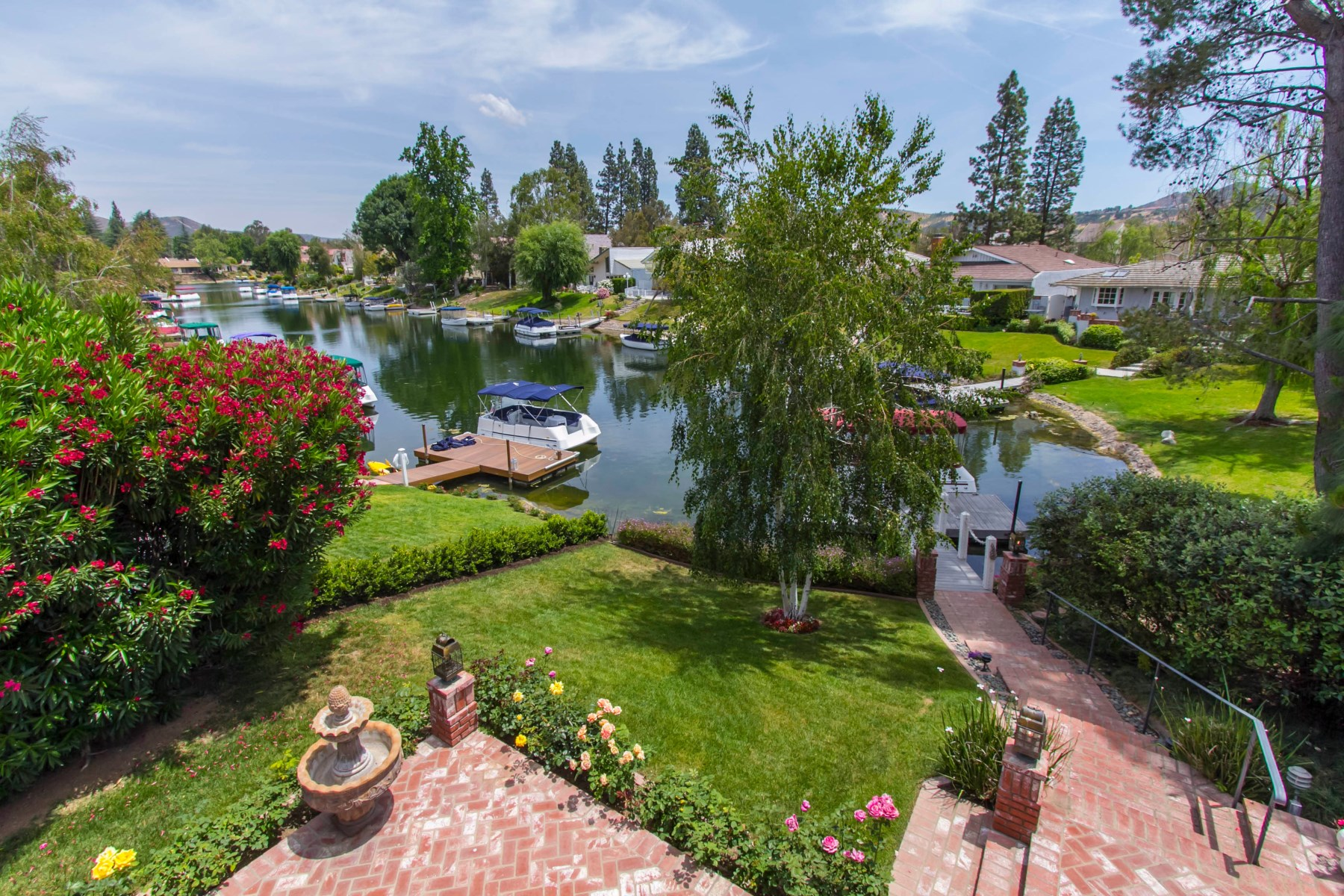 Single Family Home for Sale at Gated Westlake Island 2631 Oakshore Drive Westlake Village, California 91361 United States