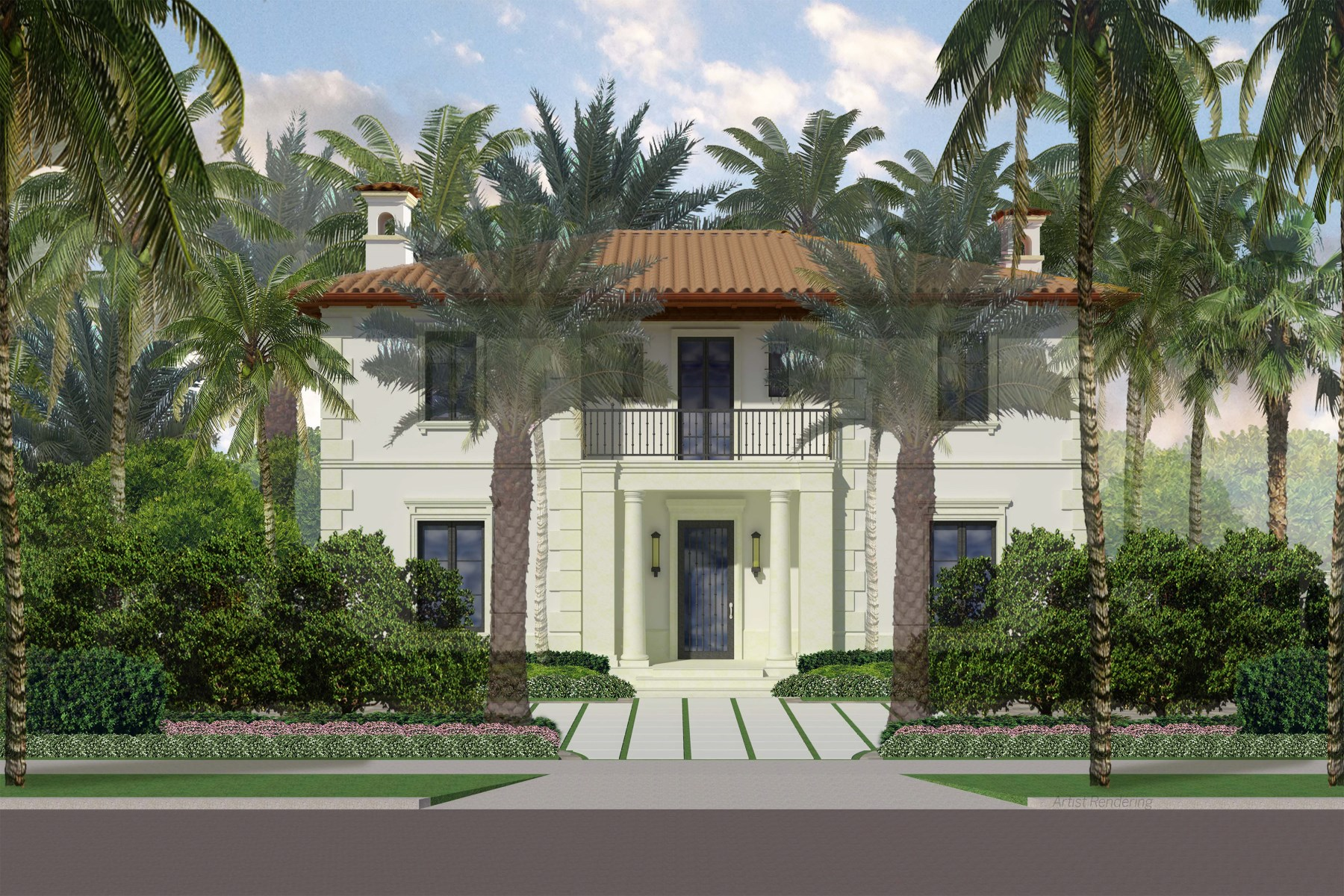 Casa para uma família para Venda às Mid-Town Palm Beach New Construction 280 N County Rd North End, Palm Beach, Florida, 33480 Estados Unidos