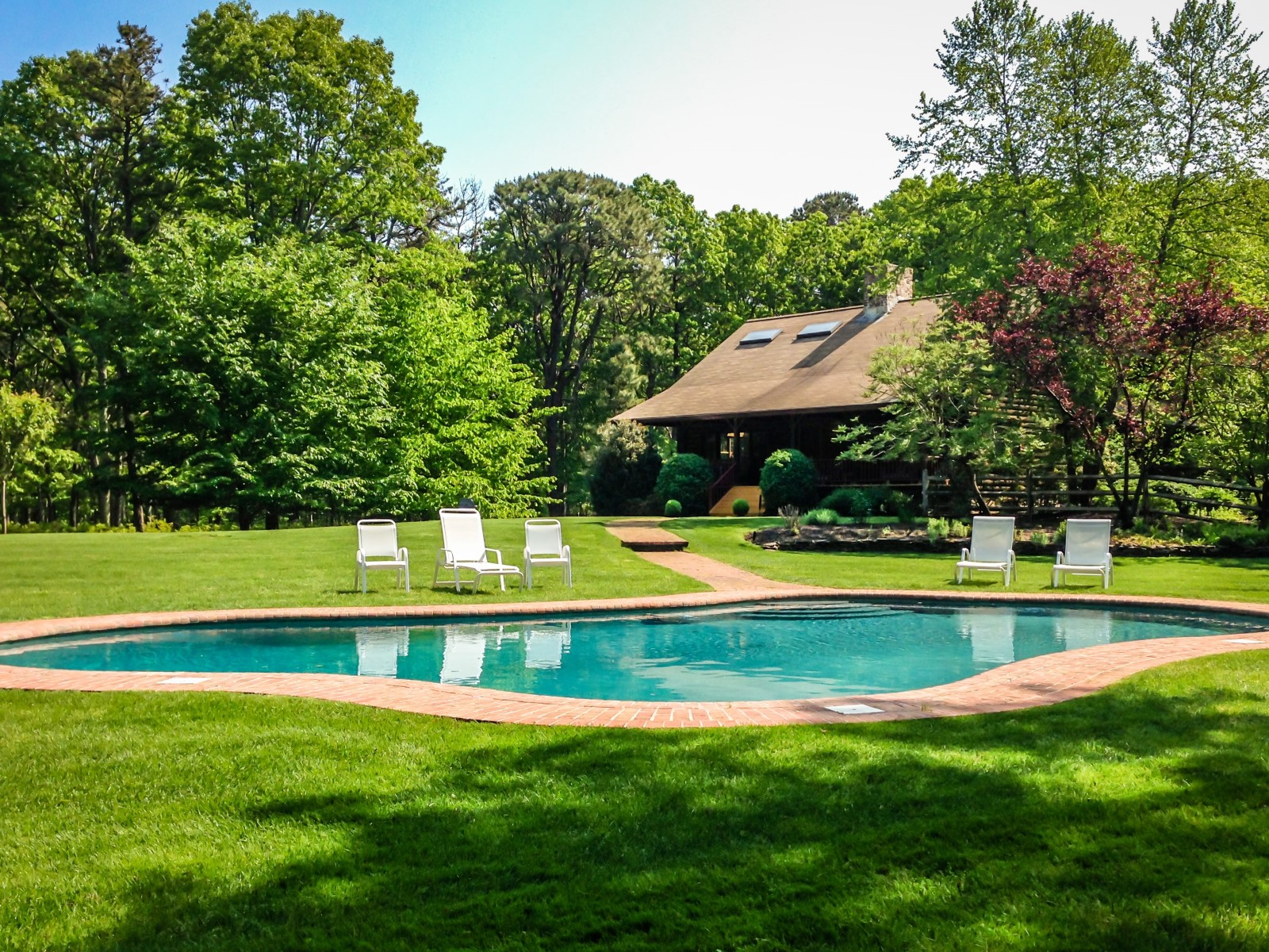 Single Family Home for Rent at Close to Village and Complete Privacy East Hampton, New York 11937 United States