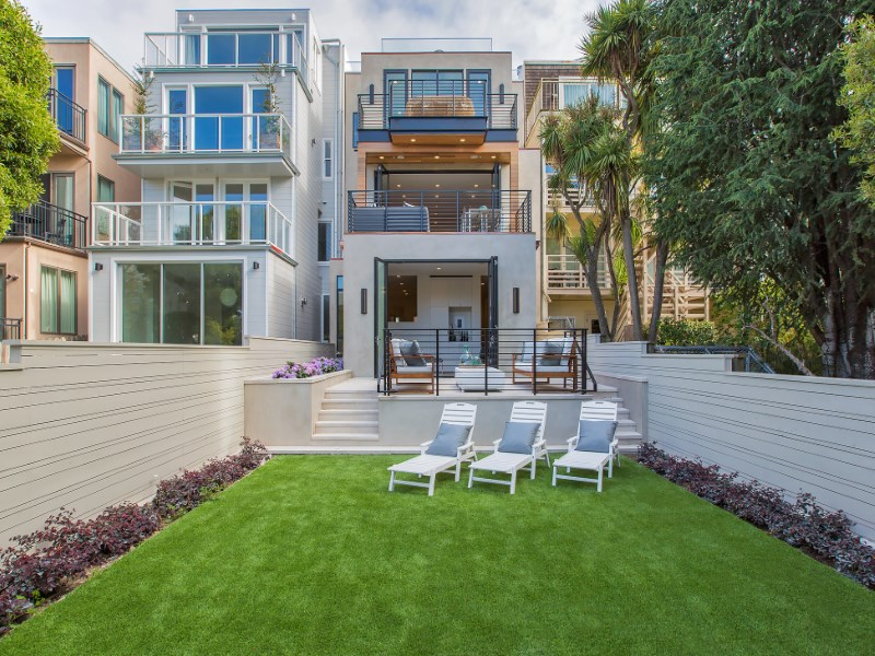 Single Family Home for Sale at Masterpiece On Greenwich 2764 Greenwich St San Francisco, California 94123 United States