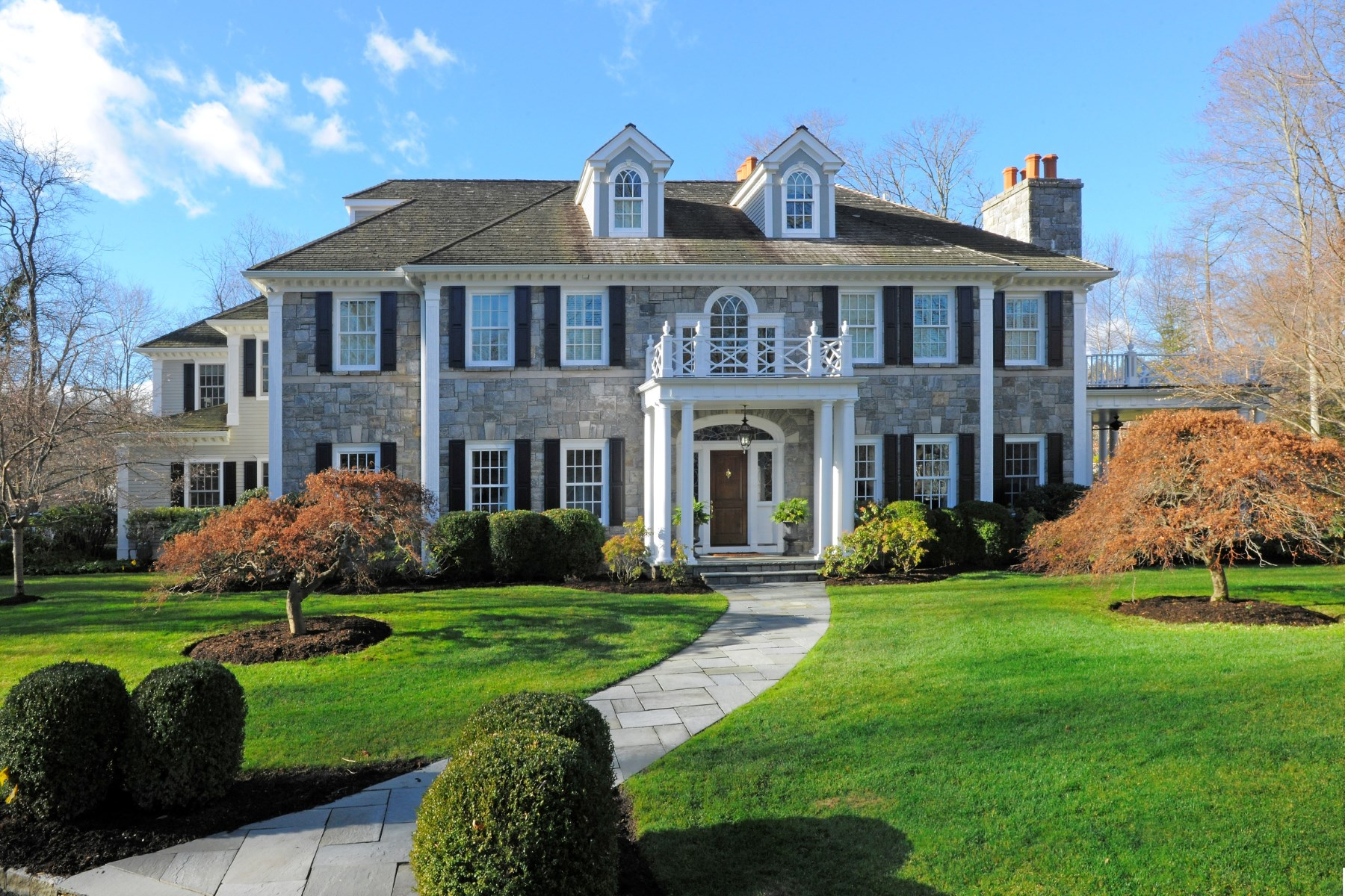 Single Family Home for Sale at Spectacular Mid-Country Lane 40 Sawmill Lane Mid-Country, Greenwich, Connecticut, 06830 United States