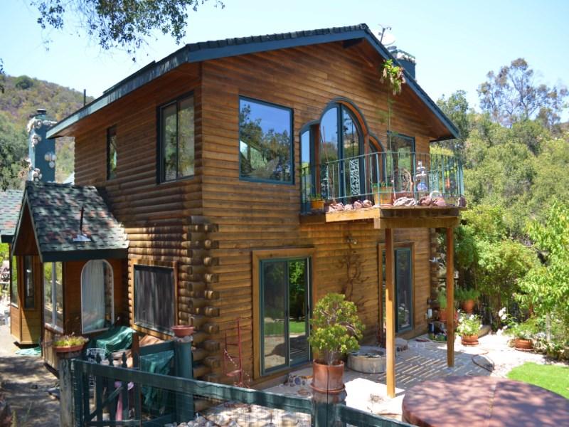 Casa Unifamiliar por un Venta en 1233 Greenleaf Canyon Road 1233 Greenleaf Canyon Rd Topanga, California 90290 Estados Unidos