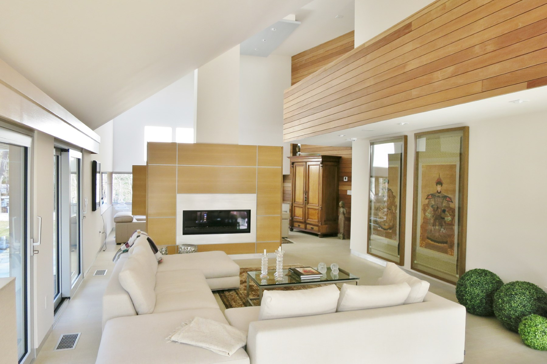 Property Of Sculptural Contemporary by the Bay
