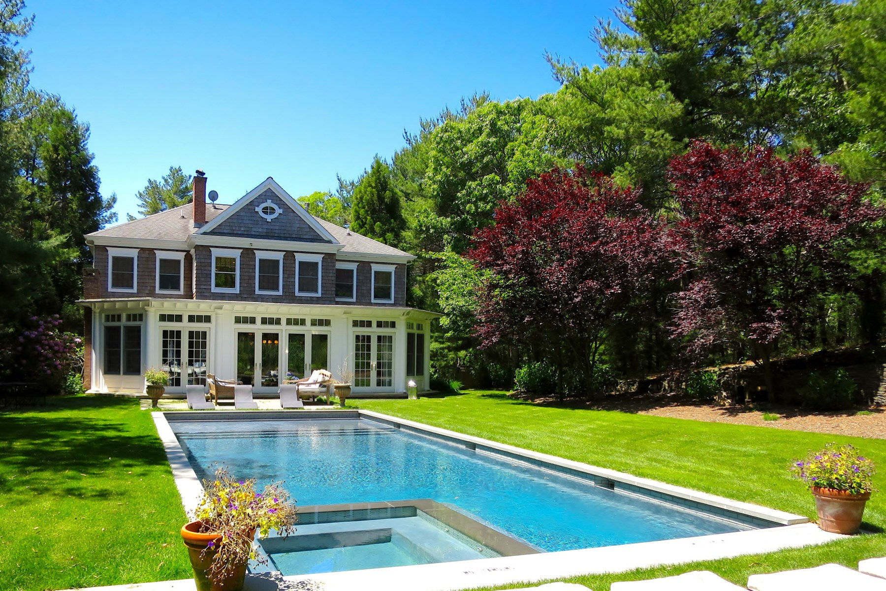 Property Of English Manor Style House, East Hampton