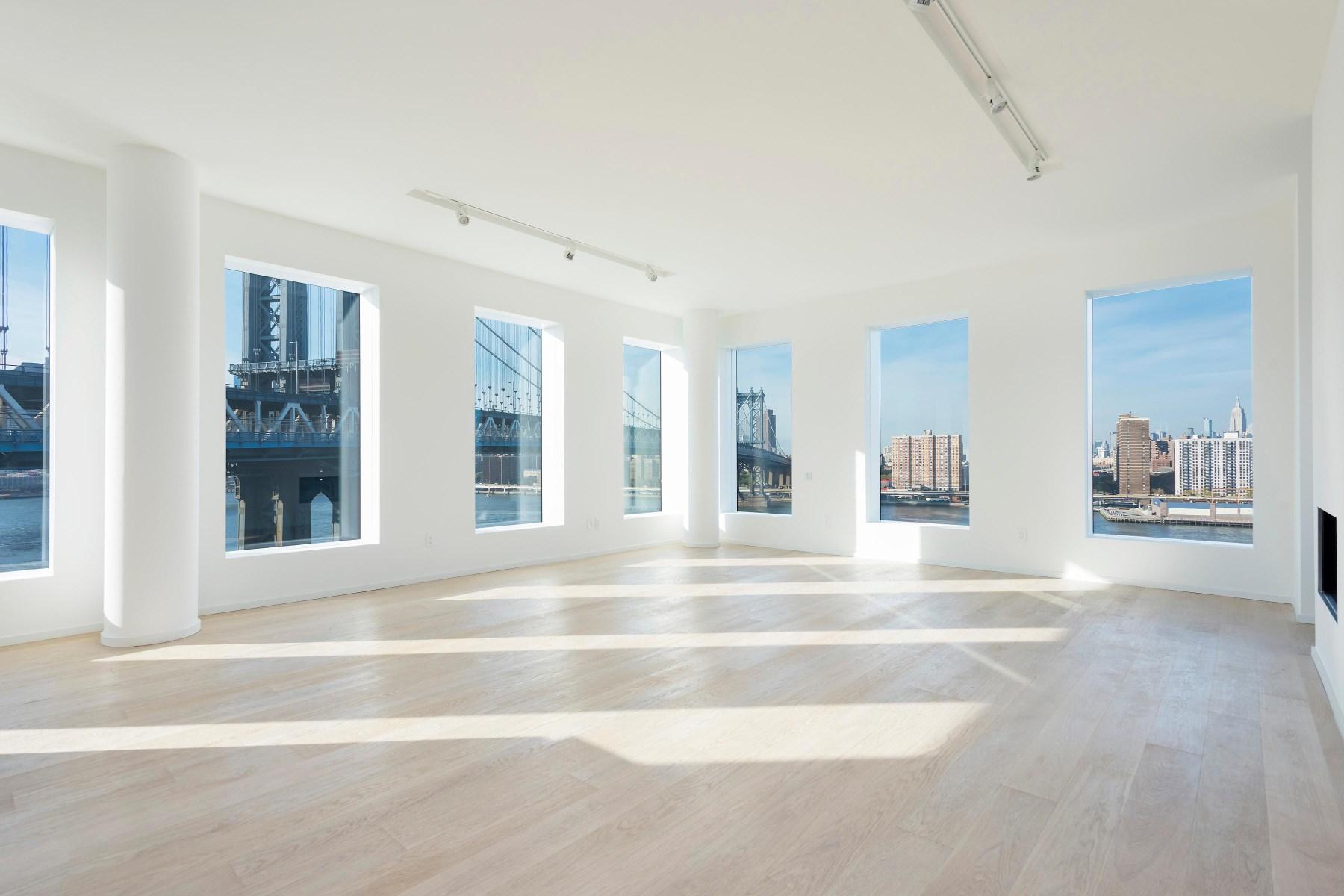 Кондоминиум для того Аренда на Waterfront Penthouse Perfection 1 John Street PH Brooklyn, Нью-Йорк 11201 Соединенные Штаты