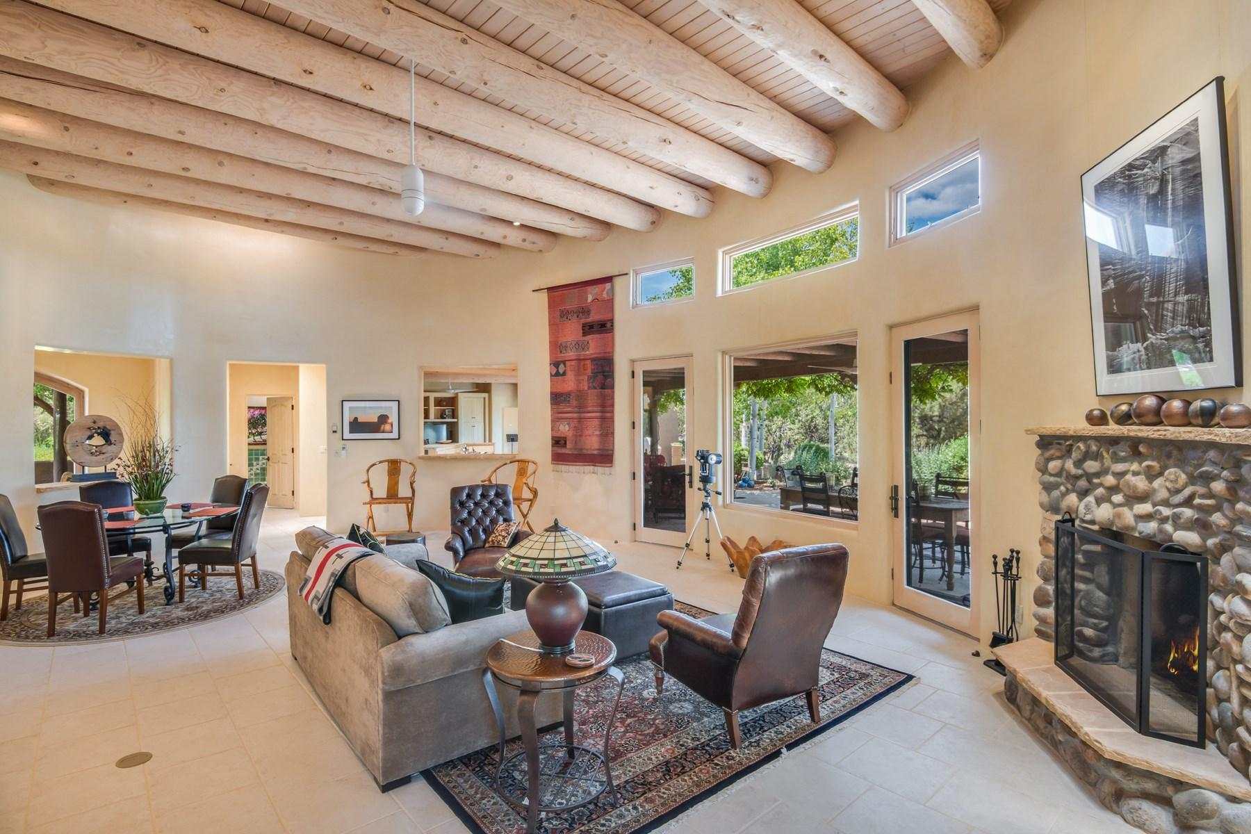 Single Family Home for Sale at 61 Thundercloud Las Campanas & Los Santeros, Santa Fe, New Mexico, 87506 United States