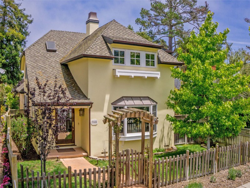 Single Family Home for Sale at Charming French Country 368 Sinex Avenue Pacific Grove, California 93950 United States