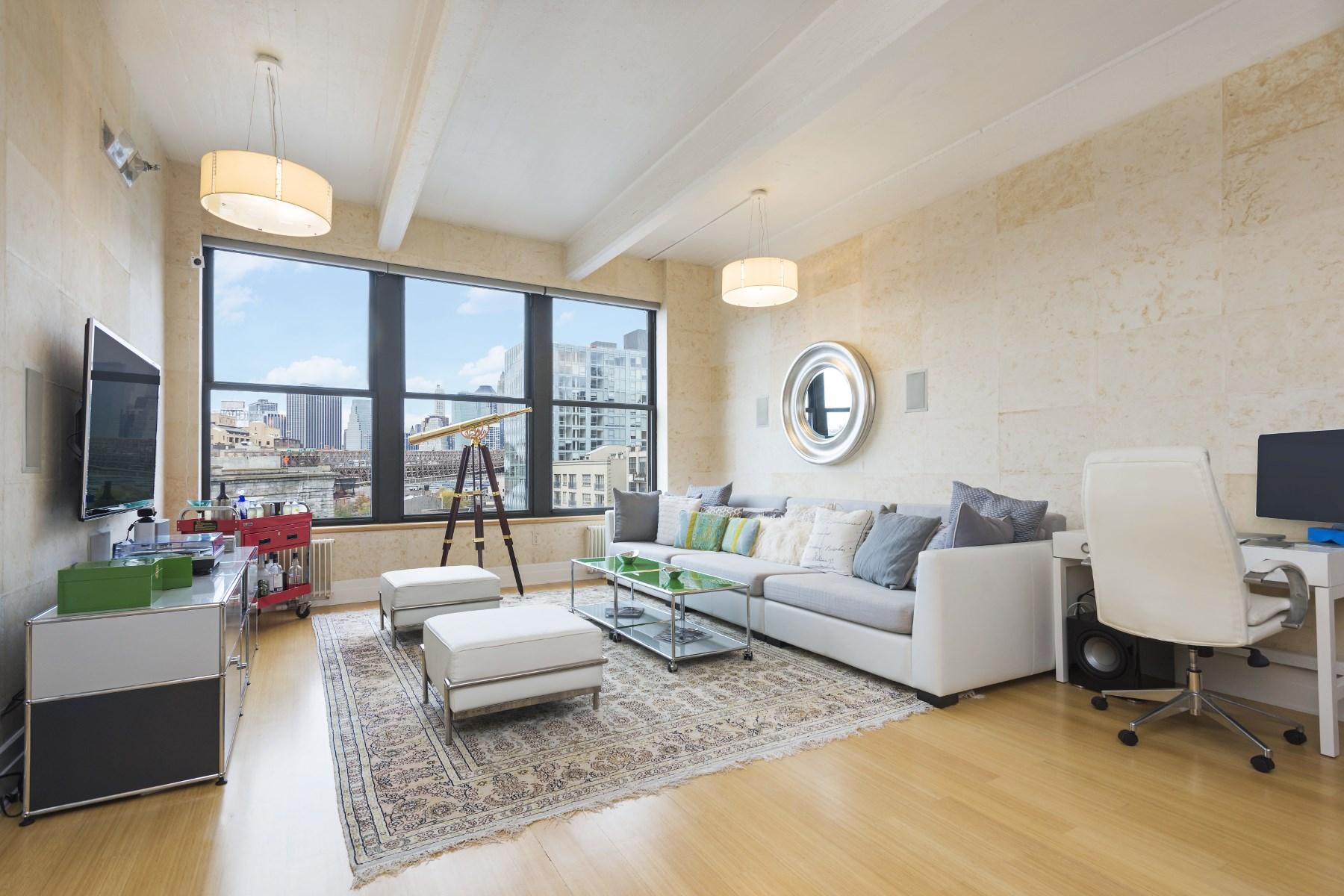 콘도미니엄 용 매매 에 West Facing, Sun Filled Dumbo Loft 70 Washington Street Apt 6m Dumbo, Brooklyn, 뉴욕 11201 미국