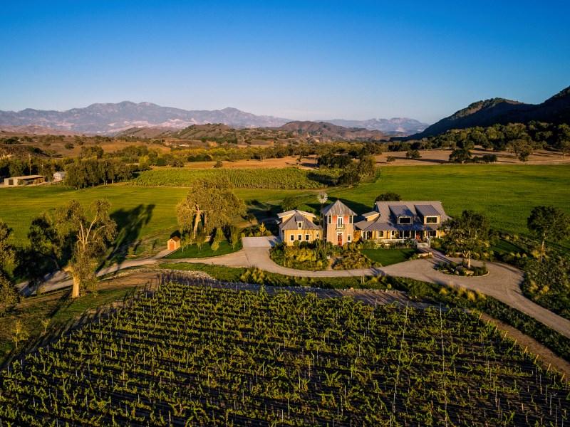 地產 為 出售 在 Rancho Rio Robles 4500 Via Rancheros Santa Ynez, 加利福尼亞州 93460 美國