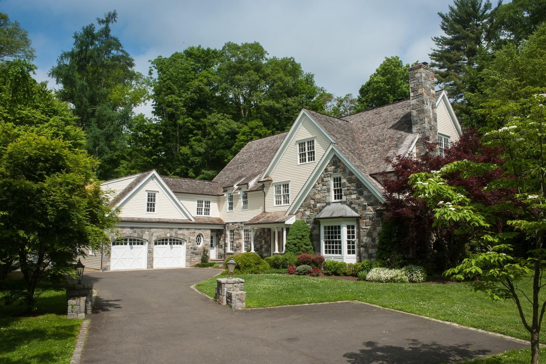 独户住宅 为 销售 在 Mid-Country Serenity 25 Pecksland Road South Of Parkway, Greenwich, 康涅狄格州 06831 美国