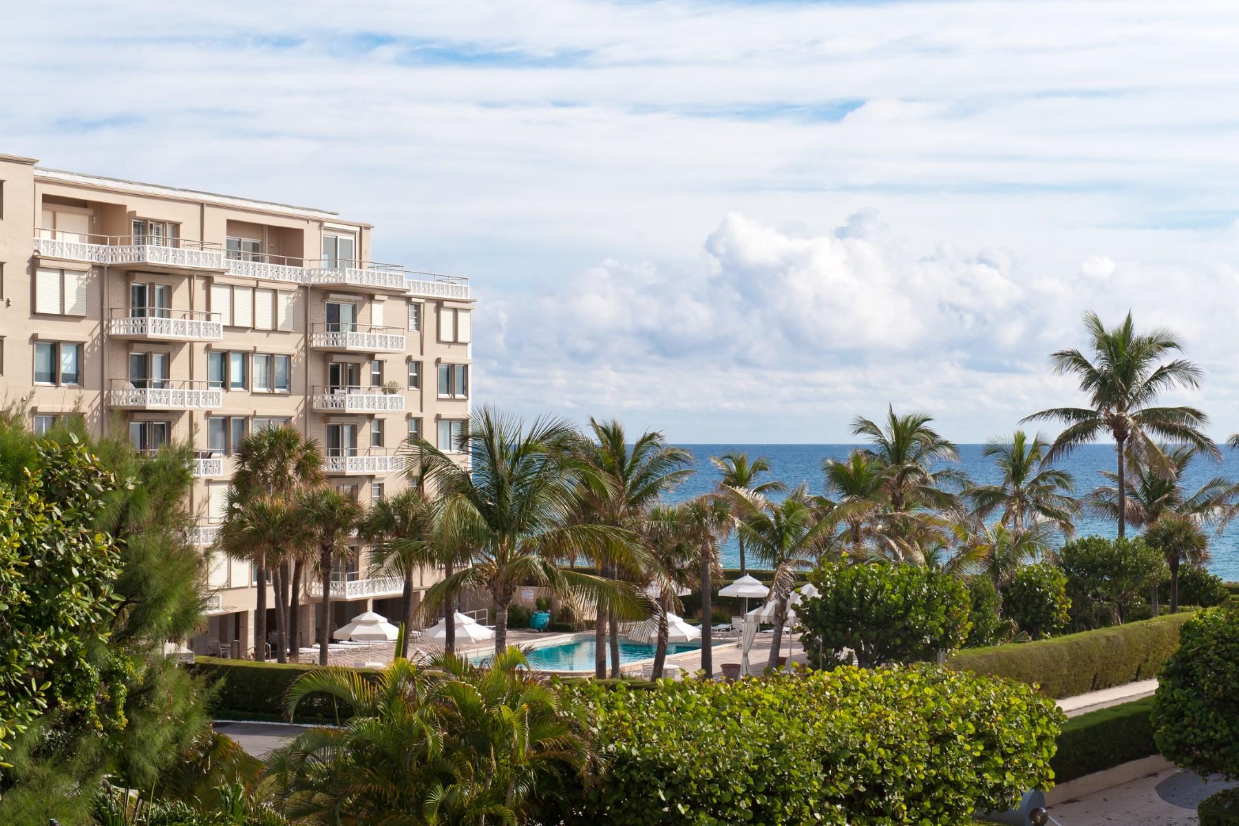 Eigentumswohnung für Verkauf beim Ocean Towers South Condo - Palm Beach 139 Sunrise Ave Apt 410 Palm Beach, Florida 33480 Vereinigte Staaten