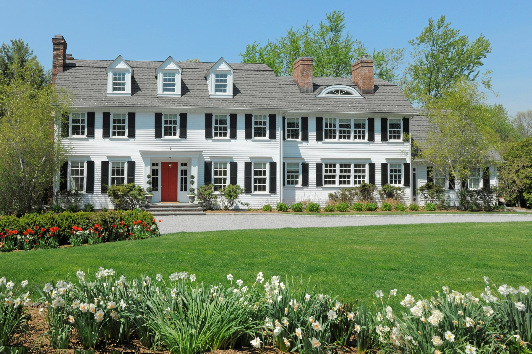 Single Family Home for Sale at Beauty in Belle Haven 3 Meadow Wood Drive Greenwich, Connecticut 06830 United States