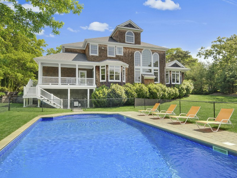 Single Family Home for Sale at Picturesque Setting In Southampton 360 Canoe Place Rd Southampton, New York 11968 United States