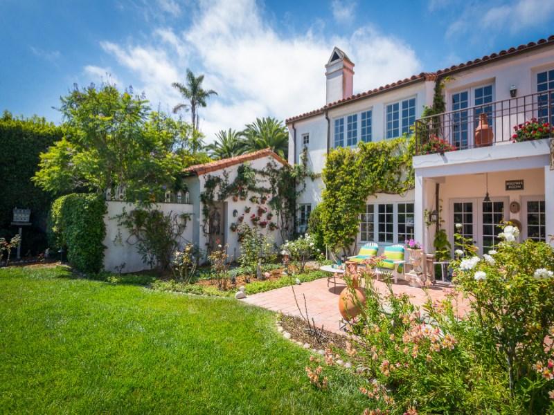 Property For Sale at Romantic Montecito Villa