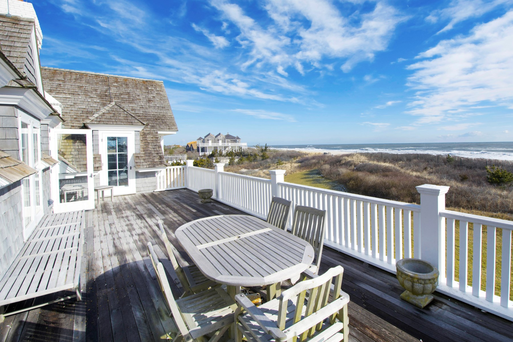 Single Family Home for Rent at World Class Oceanfront Rental 271 Dune Rd Bridgehampton, New York 11932 United States