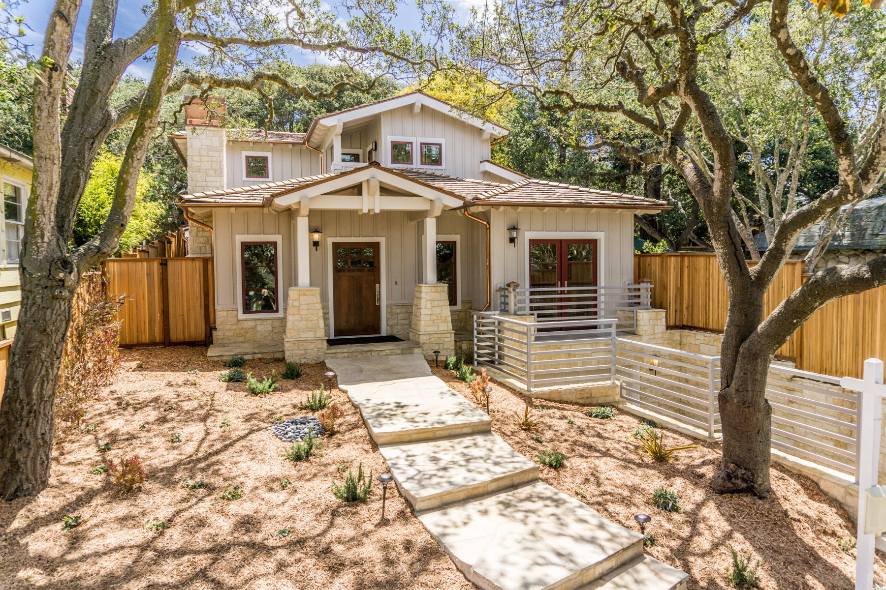 sales property at Carmel-by-the-Sea Craftsman Cottage
