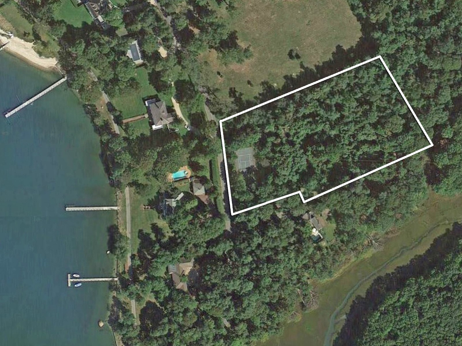 Property For Sale at Desirable 3.2 Acre Lot in Dering Harbor