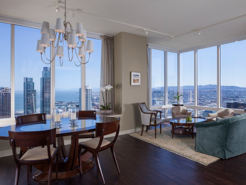 Condominium for Sale at Millennium Tower Condo with Bay Views 301 Mission St Apt 49d San Francisco, California 94105 United States