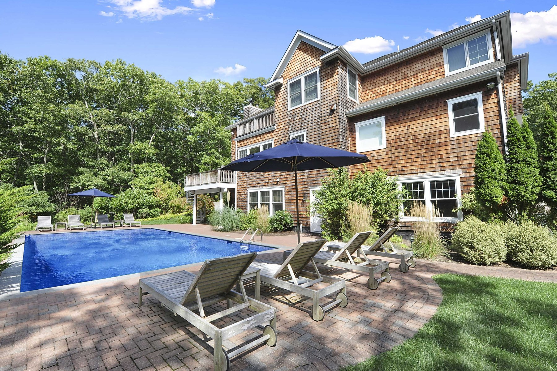 Property Of Lovely Shingle Sided on 2 Acres w Pool